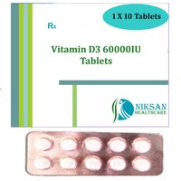 Vitamin D3 60000Iu Tablets