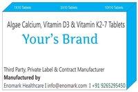 Calcium Aspartate Calcium Orotate Vitamin D3 Tablets