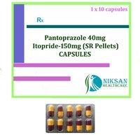 Pantoprazole 40Mg Itopride 150Mg Capsules