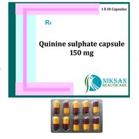 Quinine Sulphate Capsule 150 Mg
