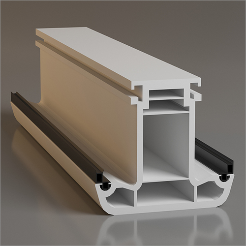 4 Chamber UPVC Mullion Profile