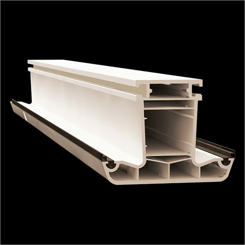 5 Chamber UPVC Mullion Profile