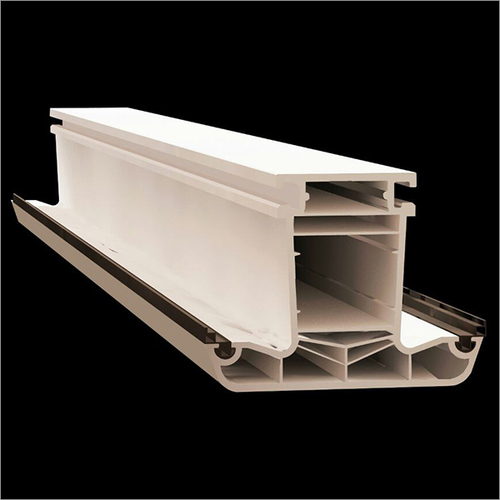 6 Chamber UPVC Mullion Profile