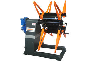 Motorized Decoiler Machine