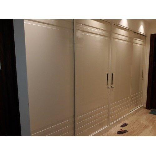 Double door modular wardrobe