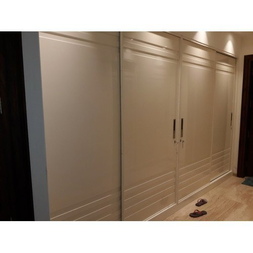 Double door modular wardrobe