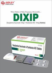 Doxylamine Succinate 10mg + Pyridoxine 10mg