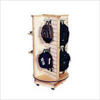 Bag Wooden Display Rack