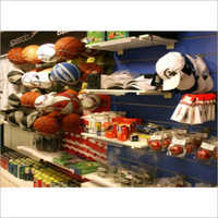Sports Showroom Display Fixture