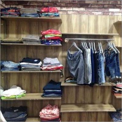 Wooden Slat Wall Panel Shelves