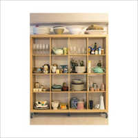 Crockery Wooden Display Stand