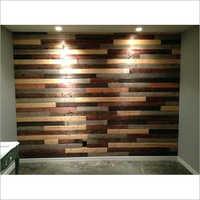 Wooden Wall Mounted Slatwall Board