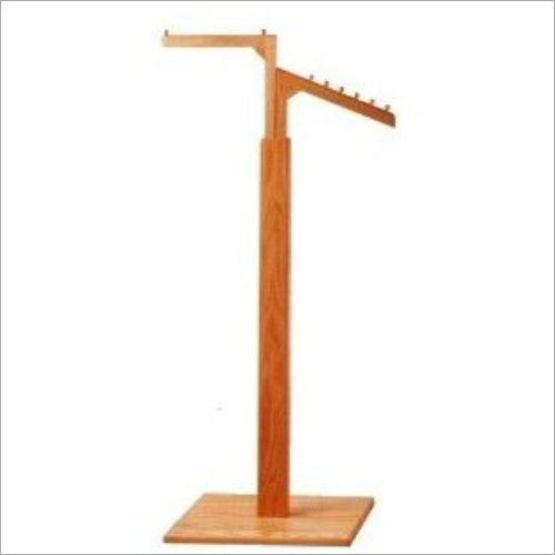 2 Way Wooden Display Stand