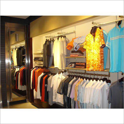Garment Display Rack