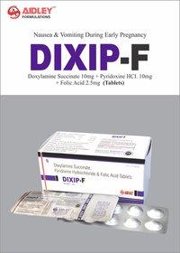 Doxylamine Succinate 10mg + Pyridoxine 10mg + Folic Acid 2.5mg