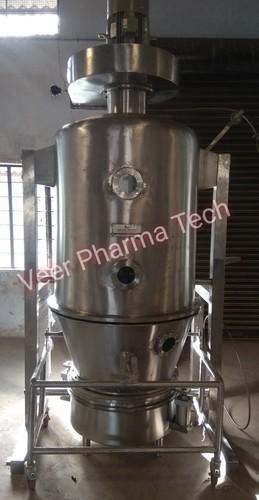 Semi Automatic Fluid Bed Dryer Processor