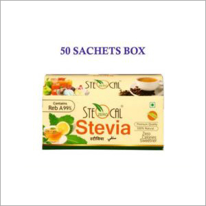 SteOcal 50 Sachets Box Front