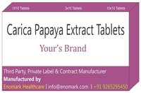 Carica Papaya Extract Tablets