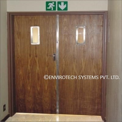 Wooden Fire Door