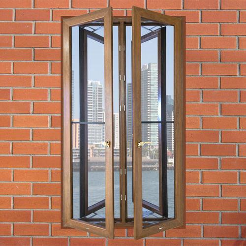 UPVC Villa Grill Window