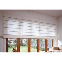 Folded Roller Blinds
