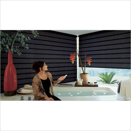 Motorised Window Roller Blinds