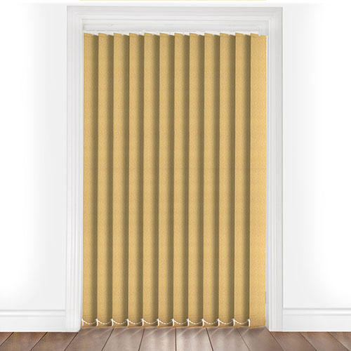 Gold Vertical Blinds