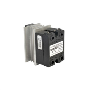 Solid State Relay -DC-AC-25 Amp with Heatsink