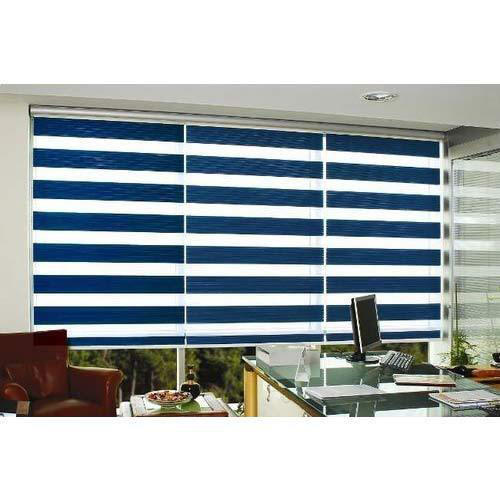 Linnet Black Out Zebra Roller Blind
