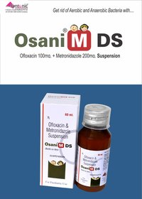 Ofloxacin 100mg + Metronidazole 200mg/5ml