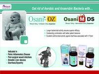 Ofloxacin 100mg + Metronidazole 200mg/5ml