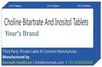 Choline bitartrate and Inositol Tablets