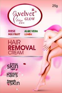 Velvet Glow  Hair Removal Cream(Lemon)