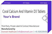 Coral Calcium and Vitamin D3 Tablets