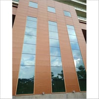 Exterior Glass Wall Cladding
