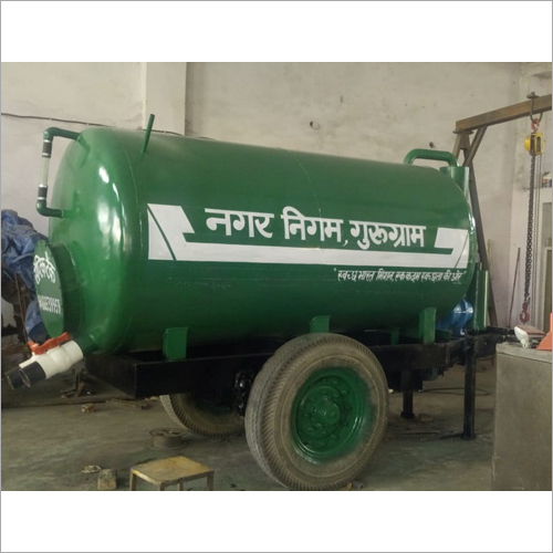 4000 Ltr Trolley Mounted Suction Machine