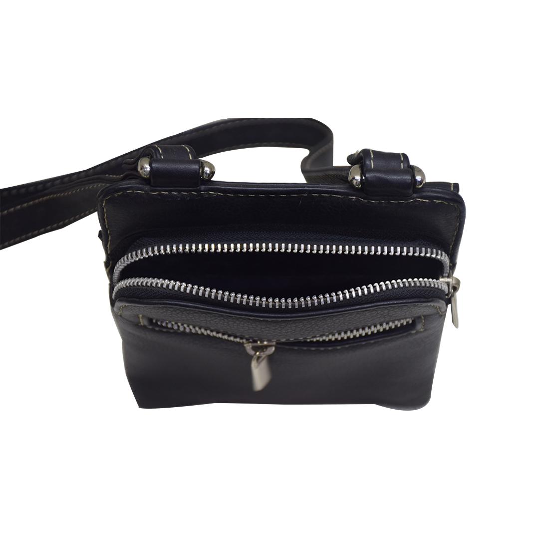 Leather Shoulder Messenger Bag