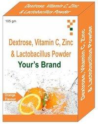 Dextrose Vitamin C Zinc Lactobacillus Powder
