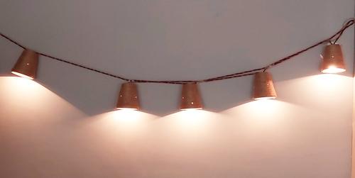 Clay Jute Lighting Series