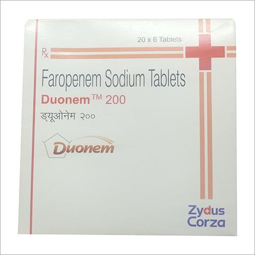 Faropenem Sodium Tablets
