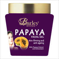 Barley Papaya Extract Facial Gel