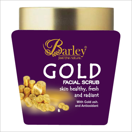Gold Facial Scrub