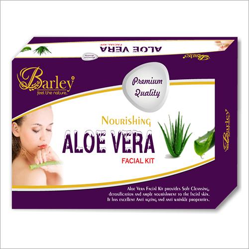Barley Aloe Vera Facial Kit