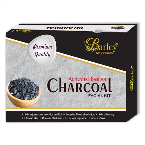 Barley Charcoal Facial Kit
