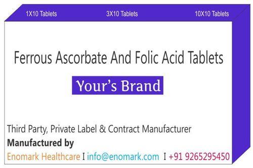 Ferrous Ascorbate and Folic Acid Tablets