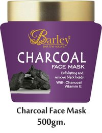 Barley Charcoal Face Mask
