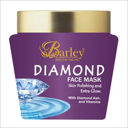 Barley Diamond Face Mask