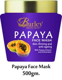 Barley Papaya Face Mask