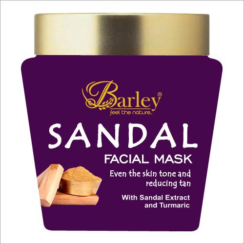 Barley Sandal Face Mask