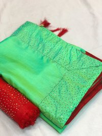 diamond joya silk saree